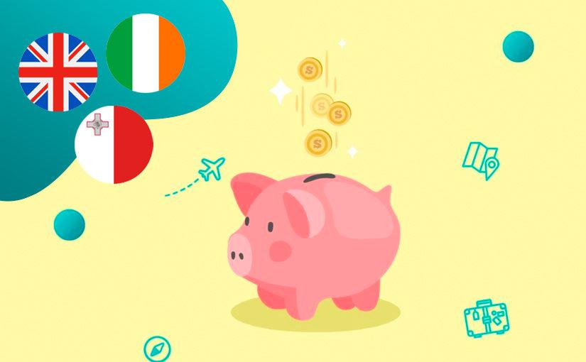 Английский в Великобритании, Ирландии и на Мальте — где дешевле?