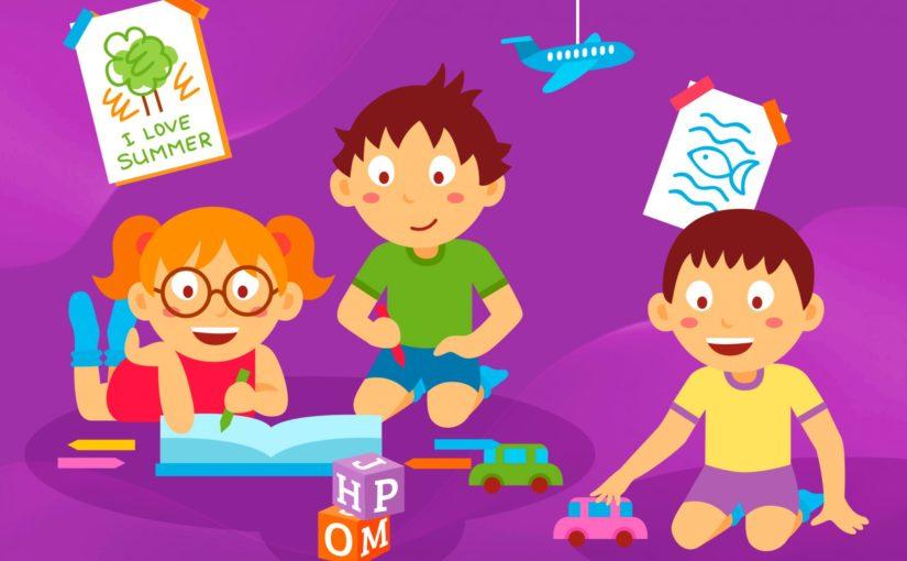Как учат английскому детей