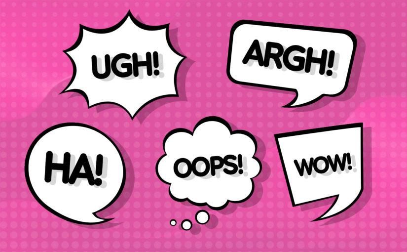 Jeez, gosh, ugh, yikes, hooray — как правильно использовать междометия в английском языке